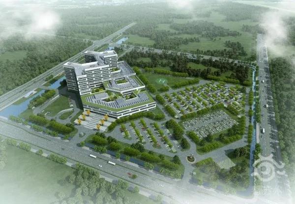 确认!园区首个!公立三级综合医院来了!年底投入使用!